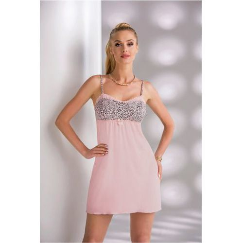 Koszula Nocna Model Marika II Dirty Pink, kolor różowy