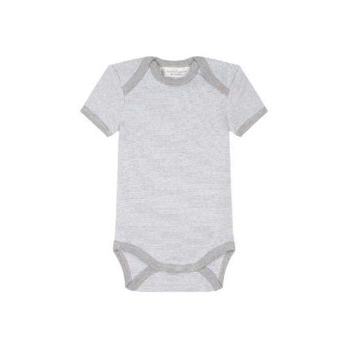 SENSE ORGANICS Baby Body dziecięce YVON pinny stripes grey marl (4050195099149)