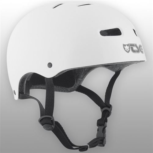 Kask - skate/bmx injected color injected white (157) marki Tsg
