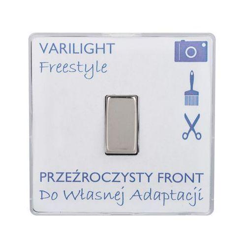Włącznik pojedynczy FREESTYLE Transparentny VARILIGHT (5021575968743)
