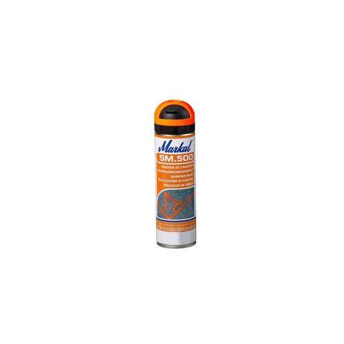Markal SM500 farba budowlana spray pomarańczowy Fl (3660447100090)