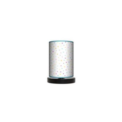 Lampa stojąca mała - trójkąciki marki Lampy
