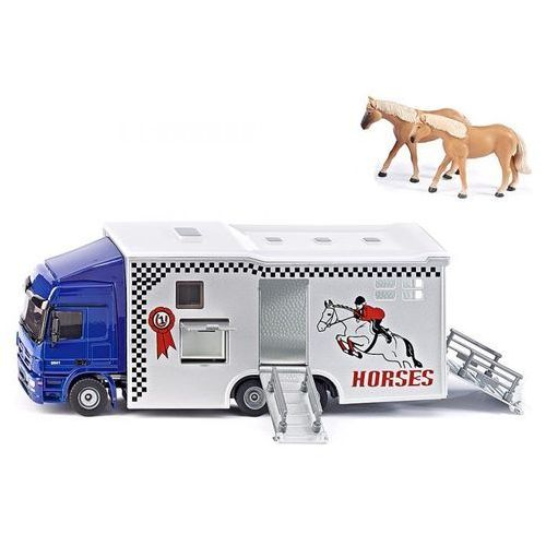 Siku Super - Ciężarówka do przewozu koni S1942