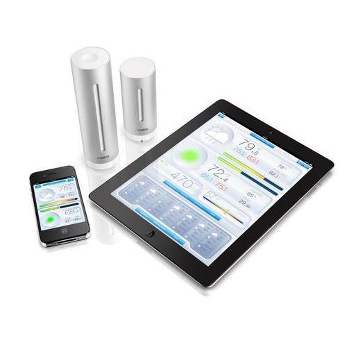 Nsws01-ec stacja pogodowa do urządzeń ios i android marki Netatmo