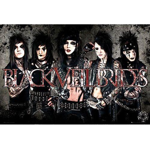 Galeria Black veil brides leather - plakat (5028486146314)