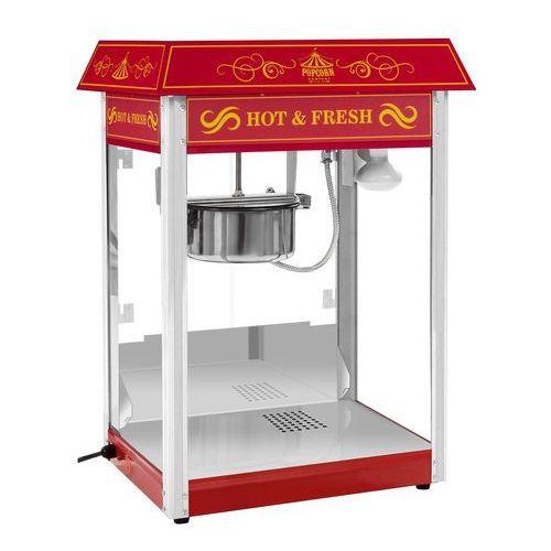 Maszyna do popcornu - czerwona - amerykański design marki Royal catering