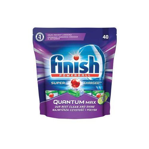 Tabletki do zmywarek Finish Quantum Max jabłko i limonka 620 g (40 sztuk) (5997321733449)
