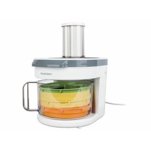Silvercrest® elektryczna tarka do warzyw z krajalnicą (4056233834130)