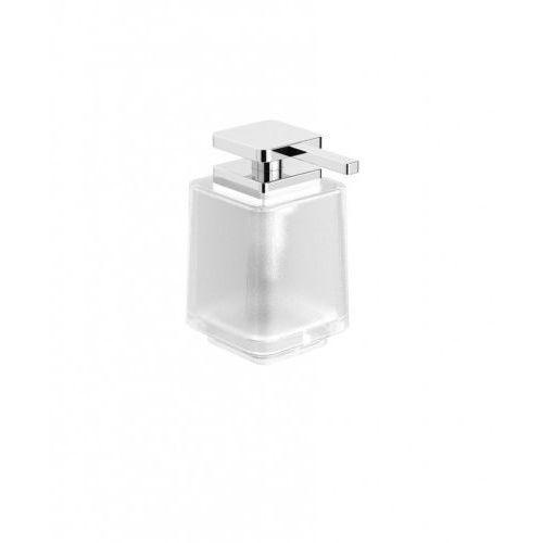 next dozownik do mydła w płynie bez uchwytu / szkło matowe 08.423 marki Stella