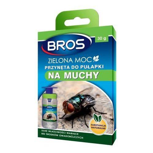 Bros Przynęta do pułapki na muchy zielona moc 30 g (5904517204690)