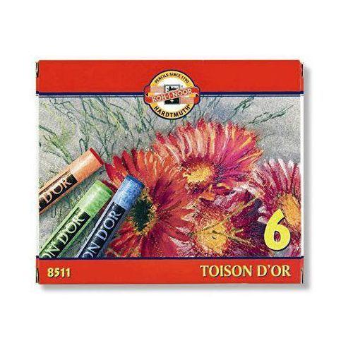 Koh-i-noor Pastele suche  toison d'or 8511 6kol., kategoria: pastele