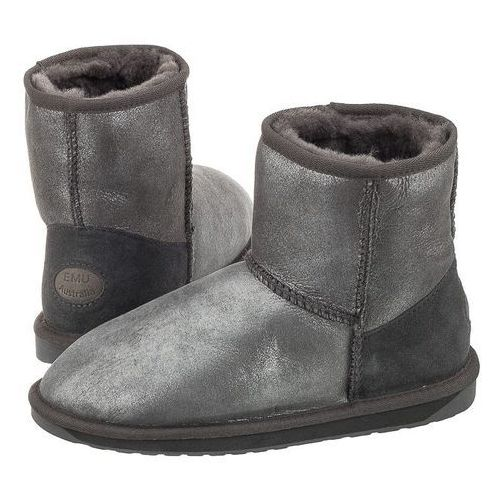 9ebbb405010ce OKAZJA - Buty stinger metallic mini charcoal w11378 (em197-a), Emu australia  ...