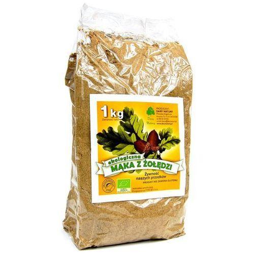 Dary natury Mąka z żołędzi eko 1 kg - (5902768527117)