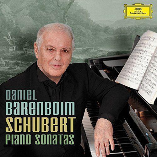 Schubert piano sonatas - daniel barenboim (płyta cd) marki Universal music / deutsche grammophon