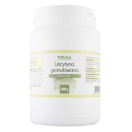 Lecytyna sojowa granulowana NON-GMO lecithin 400g MyVita