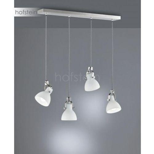 Trio ginelli lampa wisząca nikiel matowy, 4-punktowe - nowoczesny - obszar wewnętrzny - ginelli - czas dostawy: od 3-6 dni roboczych (4017807388886)