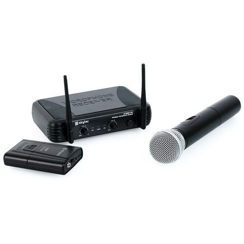 Skytec  stwm712c vhf bezprzewodowy zestaw mikrofonowy
