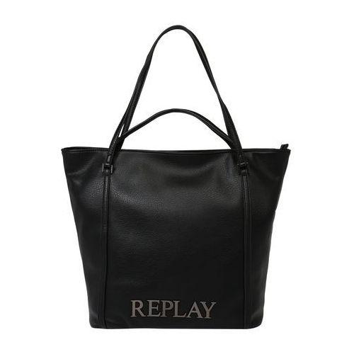 Replay torba shopper czarny