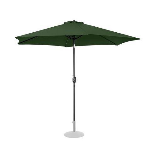 Uniprodo Parasol ogrodowy - Ø300 cm - zielony UNI_UMBRELLA_TR300GR - 3 LATA GWARANCJI