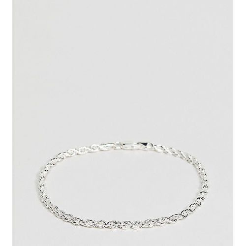Mister silver rope bracelet in sterling silver - silver