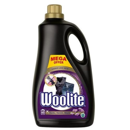 Woolite Black darks denim płyn do prania ochrona ciemnych kolorów 3600ml (5900627090529)