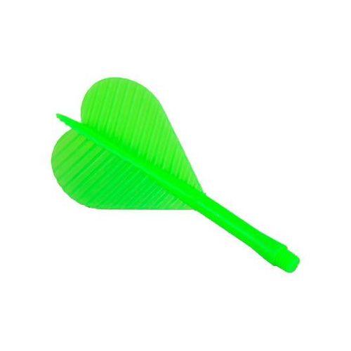 Piórko z trzonkiem plastikowym 2BA /zielone/