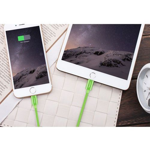 Kabel JCPAL Lightning na USB 1,5m dla Apple Srebrny - Srebrny