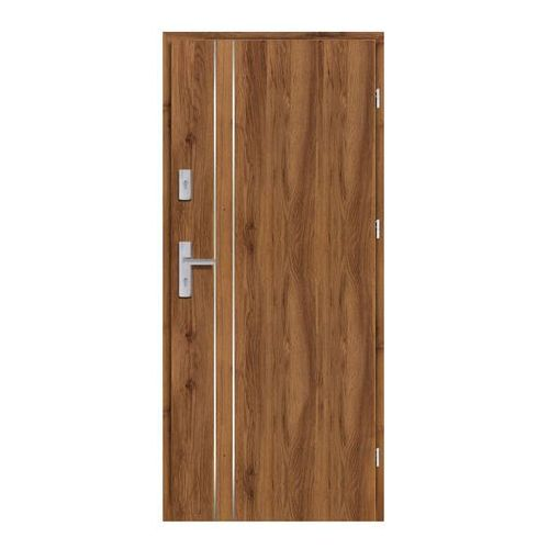 Drzwi wewnątrzklatkowe Ateron Lux 90 prawe dąb stary 3D