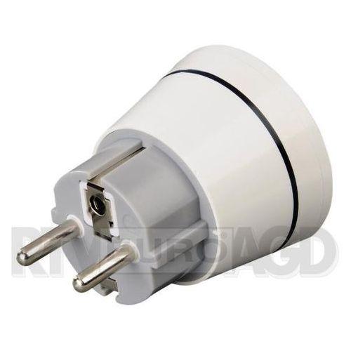 Hama Adapter podróżny Biały (001219900000) Szybka dostawa! Darmowy odbiór w 21 miastach!, 001219900000