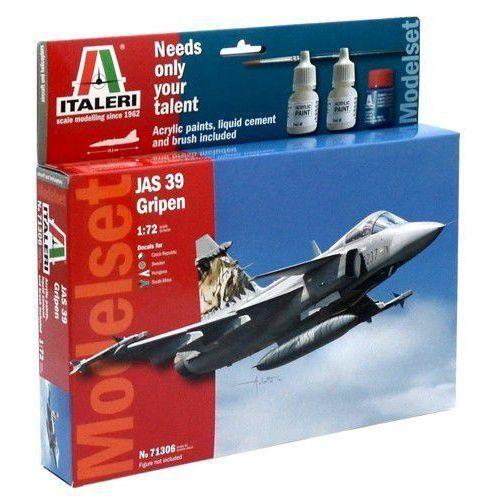 Italeri model set home play jas 39 gripen (8001283713061)