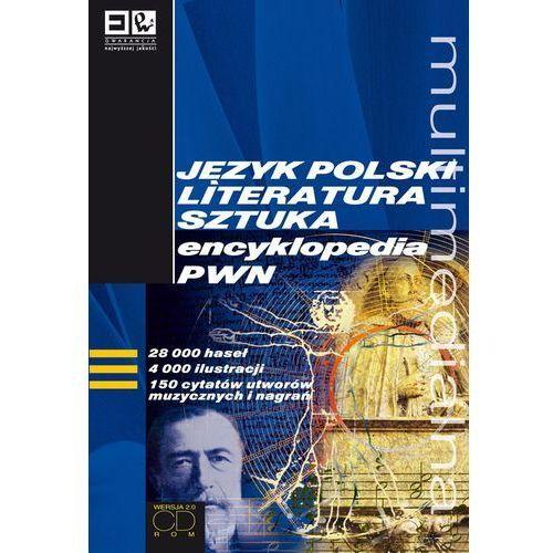 Język polski literatura sztuka Multimedialna encyklopedia PWN - DODATKOWO 10% RABATU i WYSYŁKA 24H!
