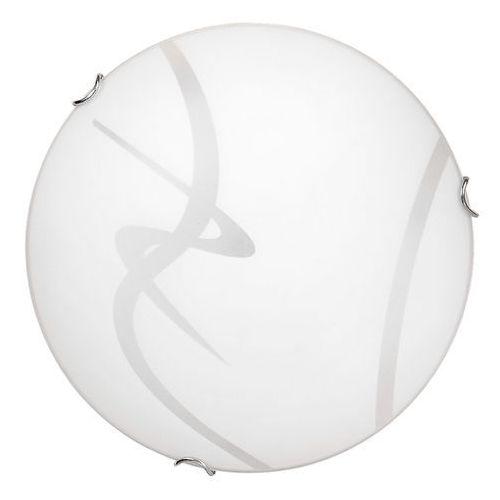 Plafon soley led 3445 lampa sufitowa 1x12w led biały / przezroczysty marki Rabalux