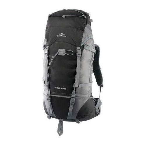 Plecak VIGDIS 45 + 10 - black/graphite (5908221344291)