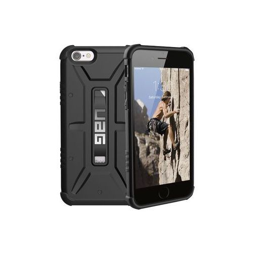 Uag Urban armor gear etui iphone 8/7/6s/6 black - czarny