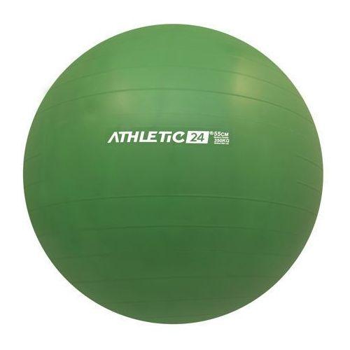 Athletic24 classic 55 zielona - piłka fitness - zielony