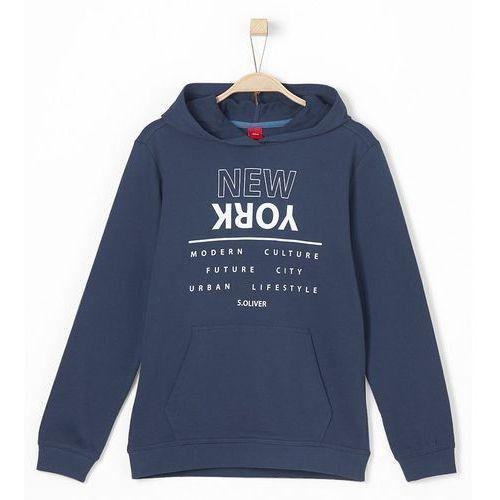 s.Oliver bluza chłopięca L niebieska, kolor niebieski