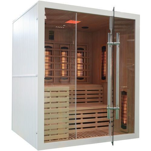 Sauna infrared z koloroterapią GS GH White (5902425322499)
