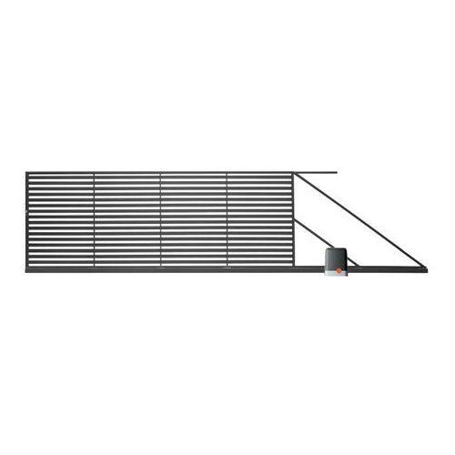 Brama przesuwna z automatem brava 400 x 150 cm prawa marki Polbram steel group