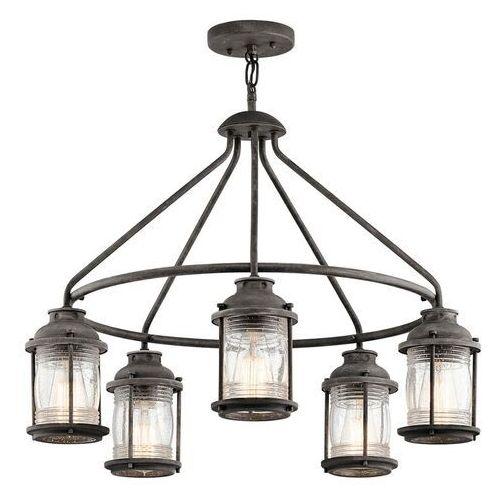 Elstead Lampa wisząca ashland bay kl/ashlandbay/5p - lighting - rabat w koszyku (5024005292418)