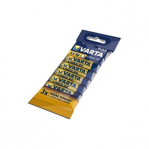 baterie alkaliczne r6(aa) 8szt. longlife marki Varta