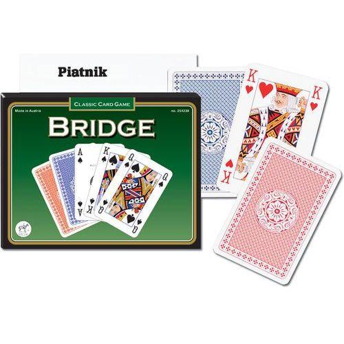 Karty CLASSIC BRIDGE PIATNIK 2 talie w pudełku