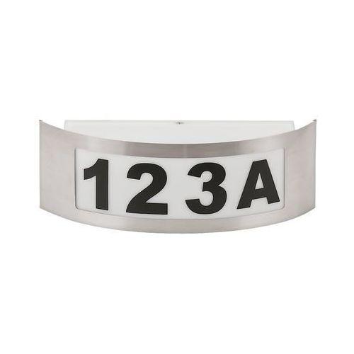 Kinkiet zewnętrzny lampa ścienna Rabalux Innsbruck 1x14W E27 IP44 inox 8749