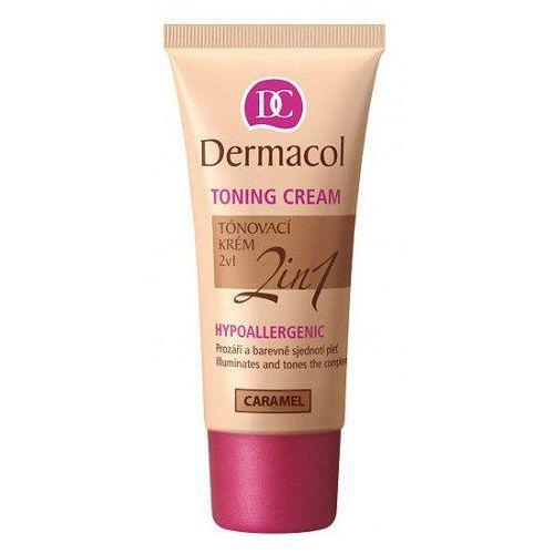 Dermacol Toning Cream 2in1 30ml W Krem koloryzujący Caramel do wszystkich typów skóry