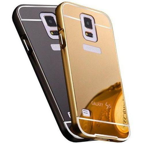 Mirror Bumper Metal Case Czarny | Etui dla Samsung Galaxy S5 / S5 Neo - Czarny
