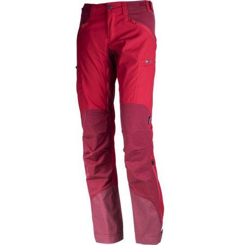 Lundhags Makke Spodnie długie Kobiety Regular czerwony 36-standardowe 2018 Spodnie turystyczne (7318731740601)