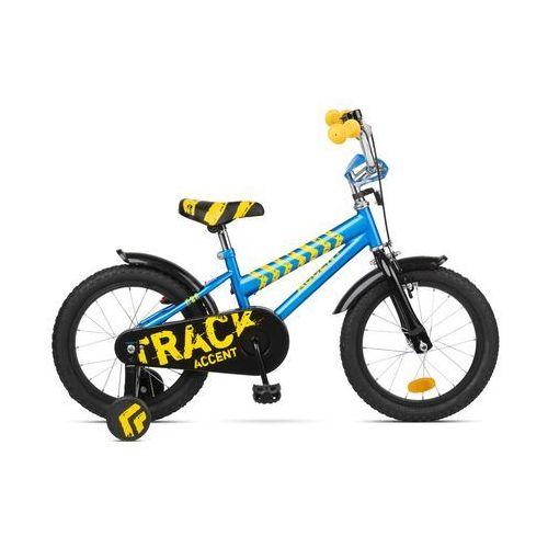 """600-51-41_ACC Rower dziecięcy Accent Track 16"""" niebieski (5902175648580)"""