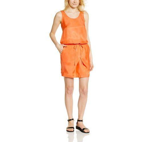 Sukienka Calvin Klein Jeans Domino dla kobiet, kolor: pomarańczowy, rozmiar: 34 (rozmiar producenta: S), kolor pomarańczowy