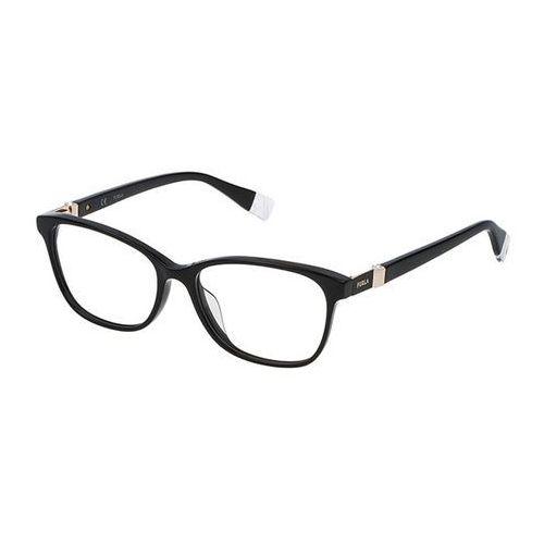 Okulary korekcyjne vfu090s 0700 marki Furla