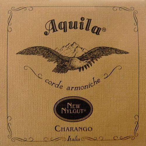 new nylgut struny do charango medium tension, ee-aa-ee-cc-gg marki Aquila