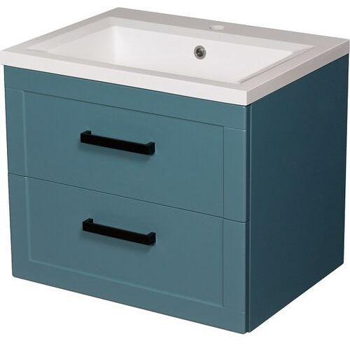 Niebieska szafka z umywalką 60/46 seria meiva n ✖️autoryzowany dystrybutor✖️ marki Gante